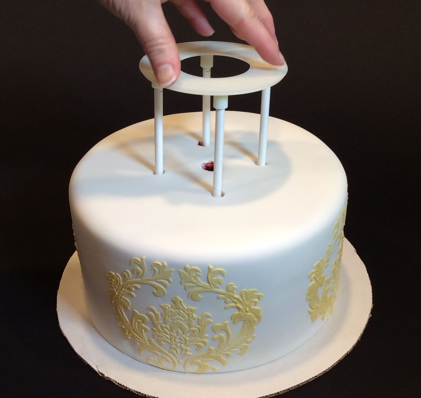 Watch How to Bake a Ring Into a Cake or Other Food video